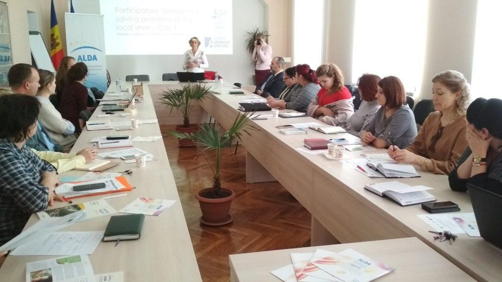 Training in Cimișlia