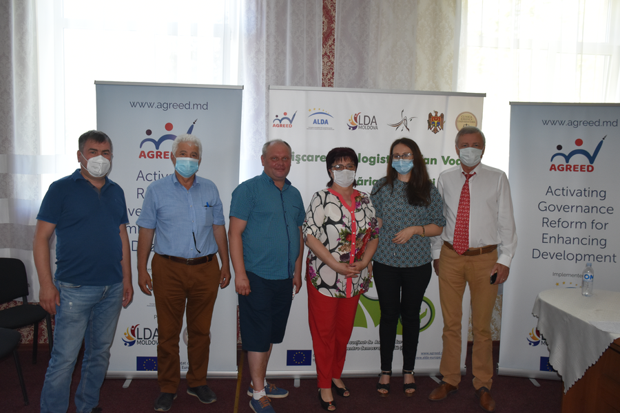 Launching the project within the grant program in Stefanesti locality, Stefan Voda district