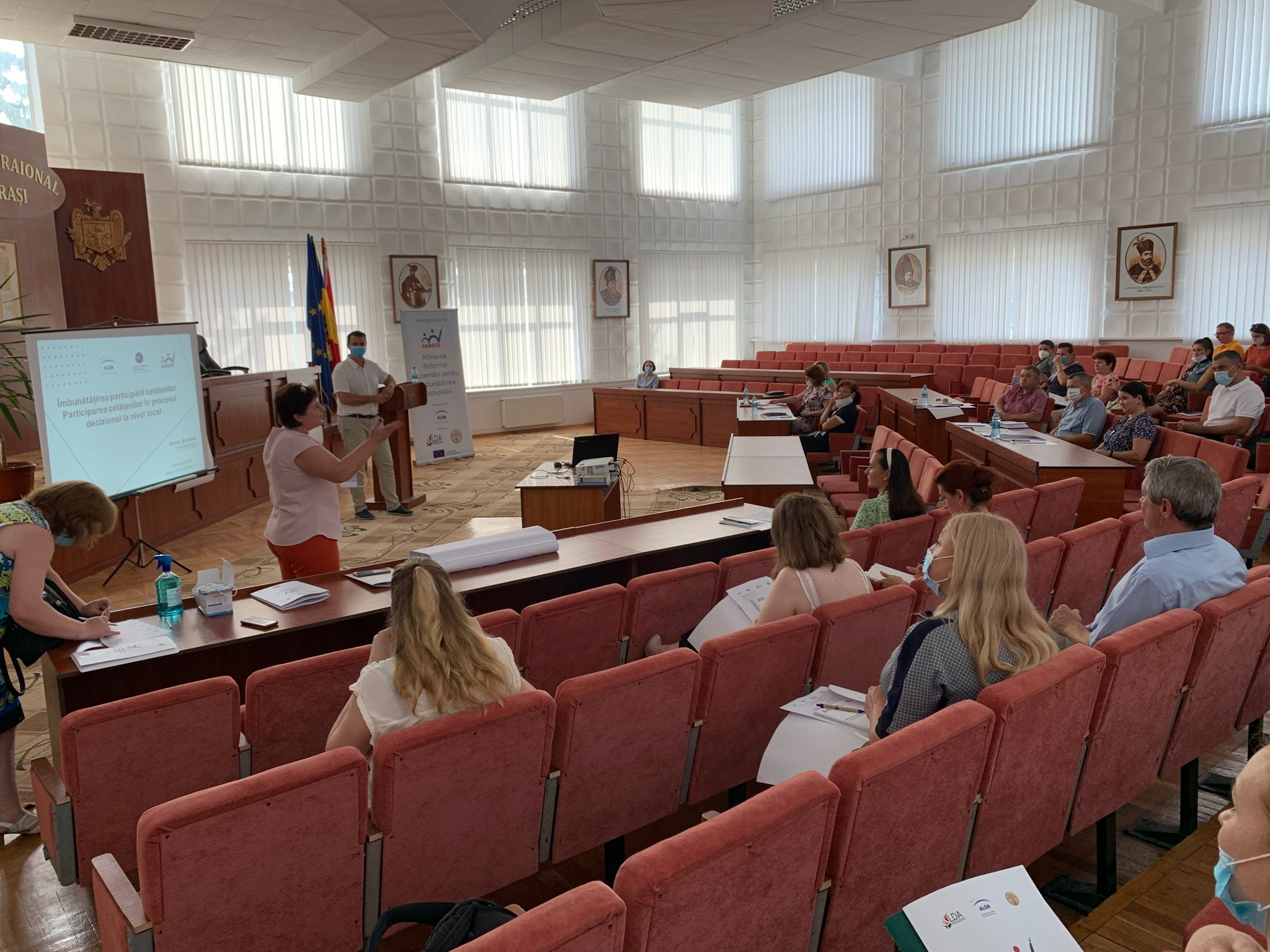 Training within AGREED Project for Edinet, Cahul, Cantemir and Calarasi  districts