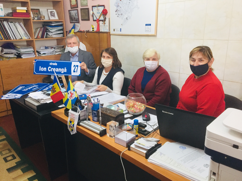 Monitorizarea proiectului- SITE, raionul Glodeni