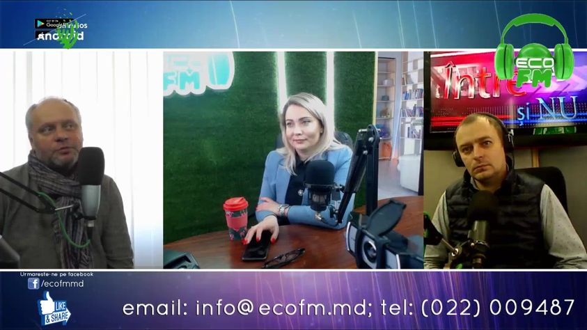 "EcoFM studio – ""YES and NO"" interview, impressions after AGREED trainings"