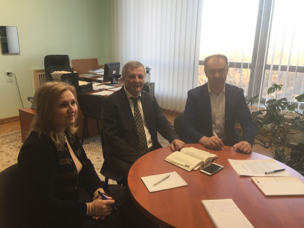 Meeting with representatives of the State Chancellery