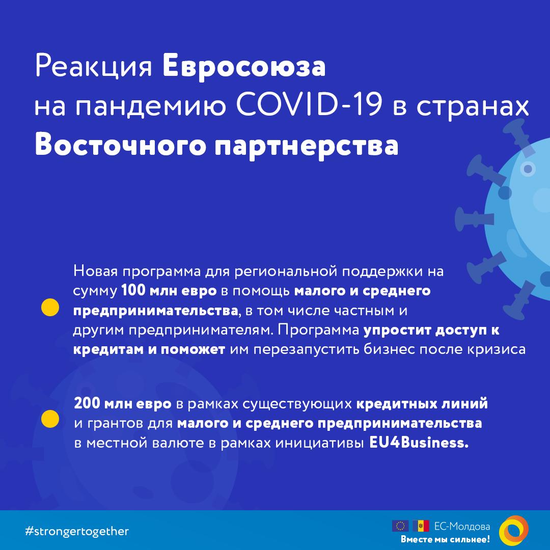Реакция Европейского Союза на пандемию COVID-19 в странах Восточного партнерства
