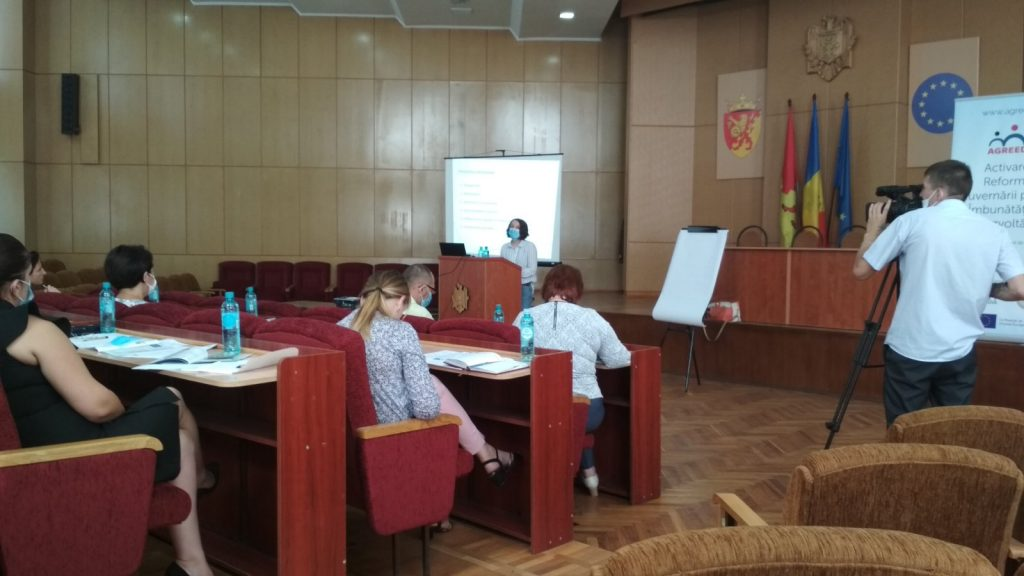 Training within AGREED Programme, Cimislia District