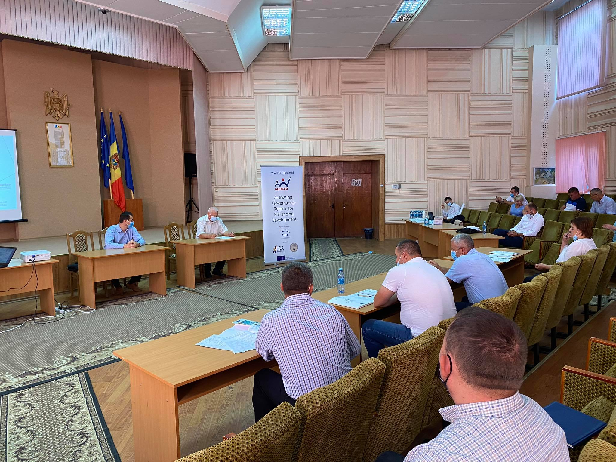 New training – North – Donduseni, in the center of the country – Ialoveni District