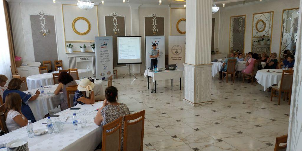 Тренинг в рамках Программы AGREED, Сынжерейский район