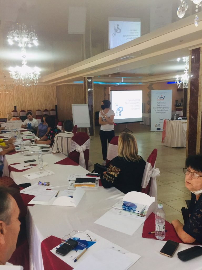 Training within AGREED Programme, Stefan Voda District