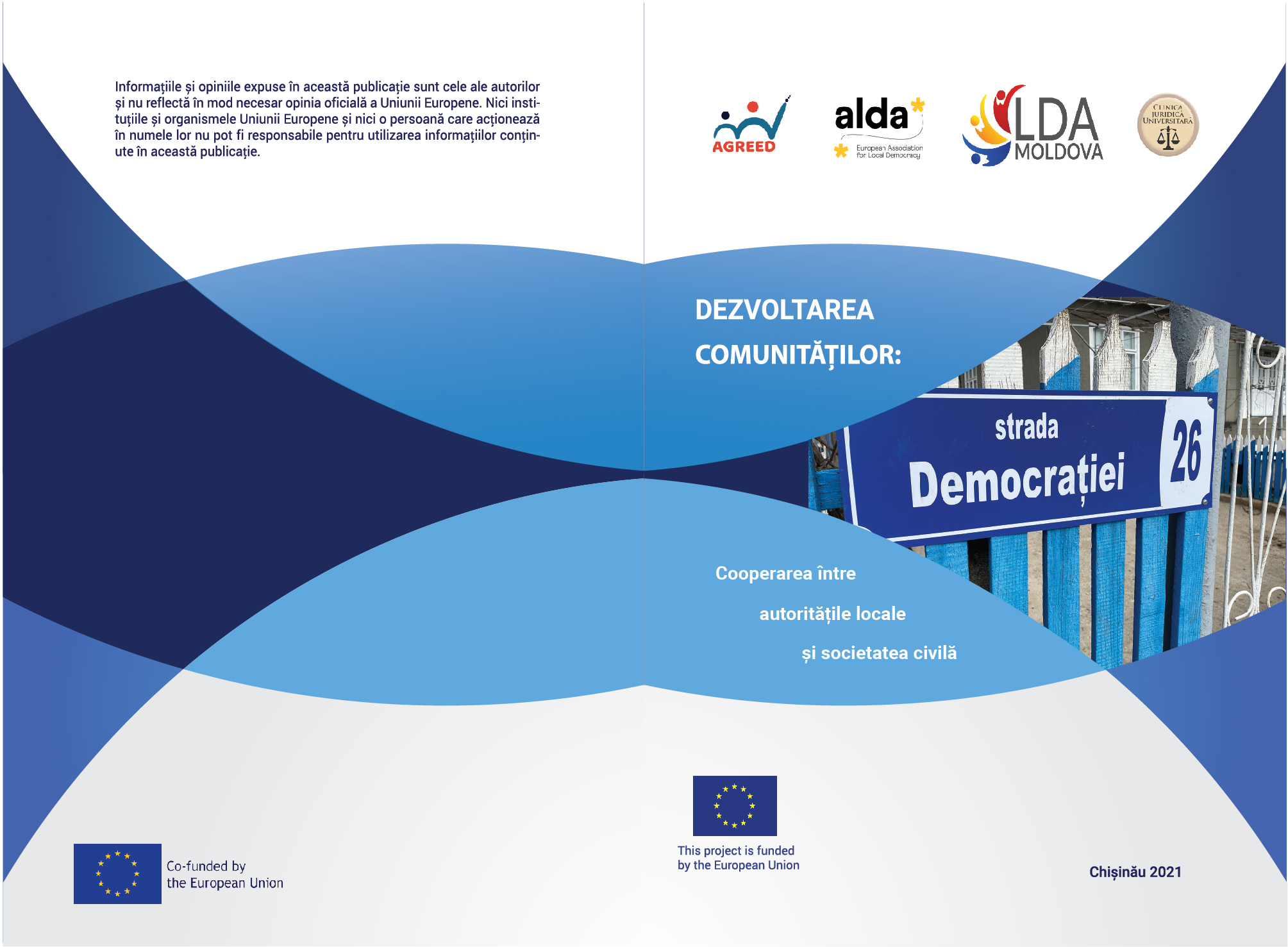 """Brochure """"Community Development: Cooperation between Local Authorities and Civil Society"""""""